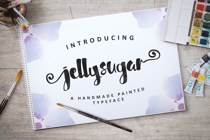 Cover Image For Jellysugar Typeface
