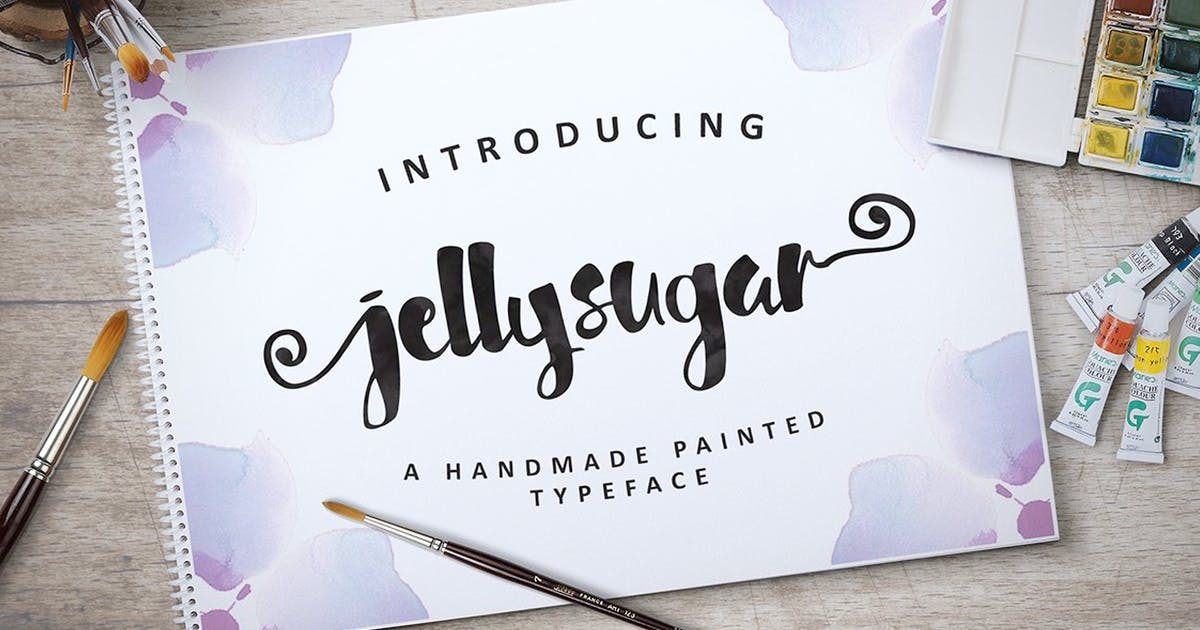 Download Jellysugar Typeface by queentype
