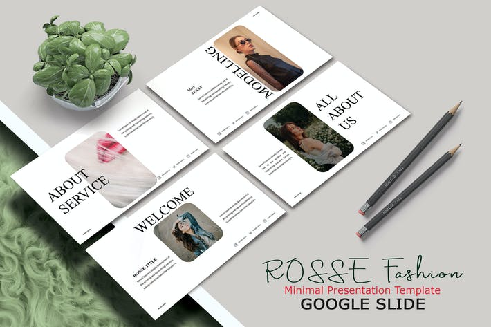 ROSSE FASHION - Google Slide Template