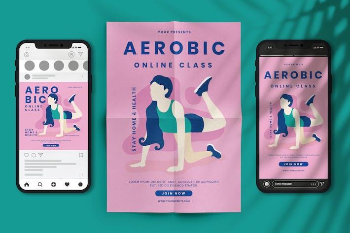 Cours en ligne aérobie