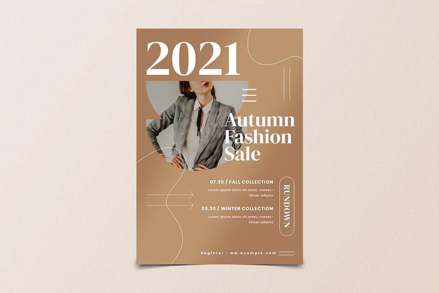 Autumn Fashion Sale Flyer