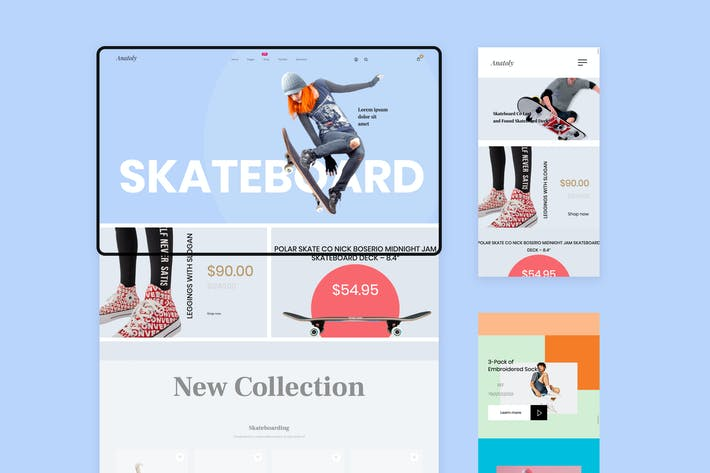 Thumbnail for Anatoly Shopify Theme