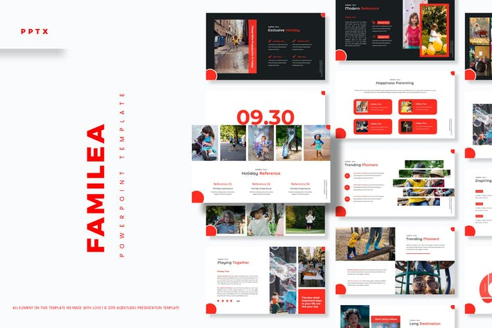 Cover Image For Familea - Powerpoint Template