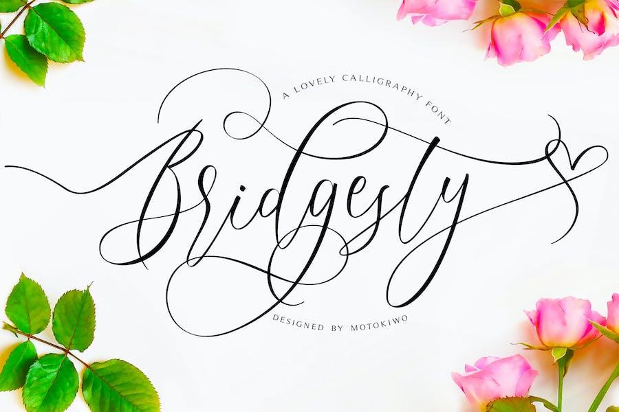 Bridgesty - Modern Calligraphy