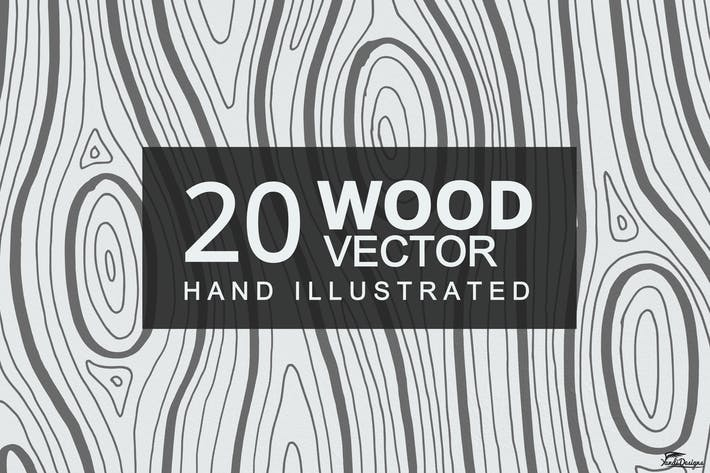 Cover Image For Wood Texture Vector