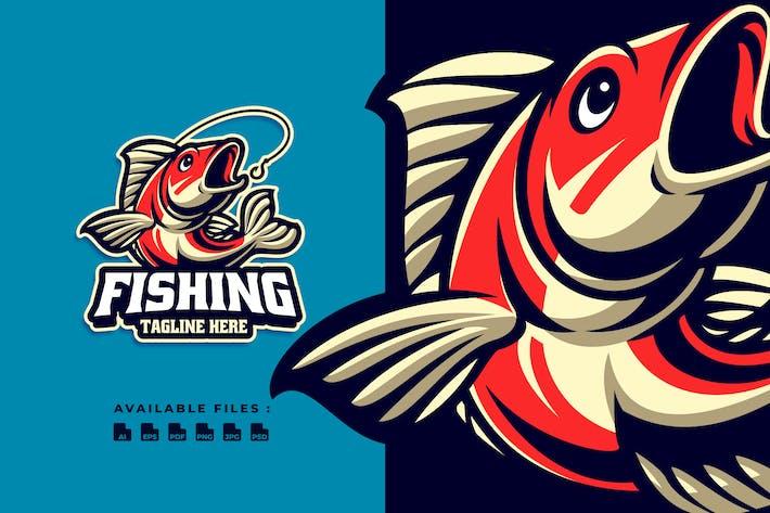 Thumbnail for Logo ludique de pêche