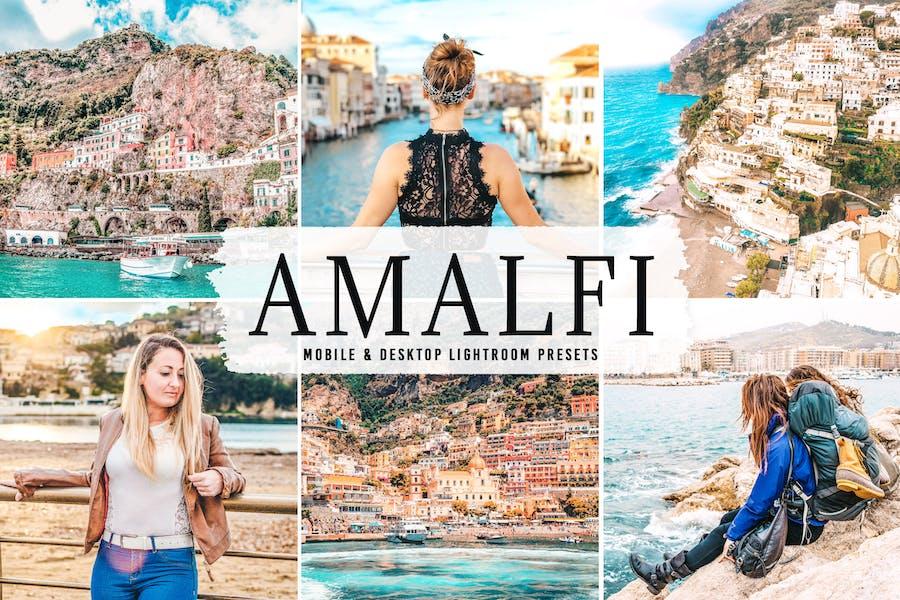 Amalfi Mobile & Desktop Lightroom Presets