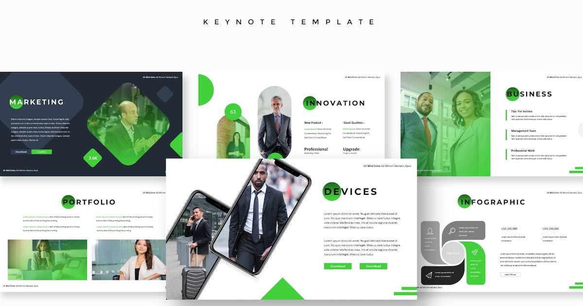 Download Corporate - Keynote Template by aqrstudio