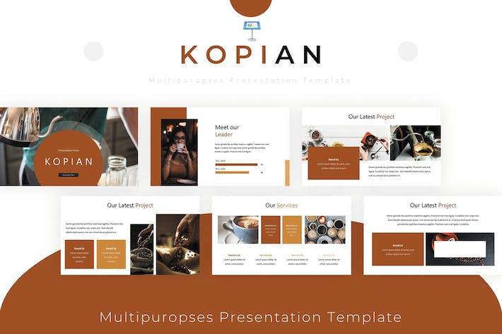 Thumbnail for Kopian - Keynote Template