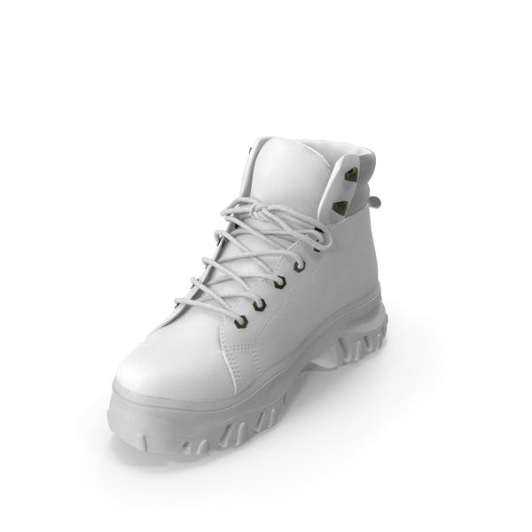 Women's Boot  White
