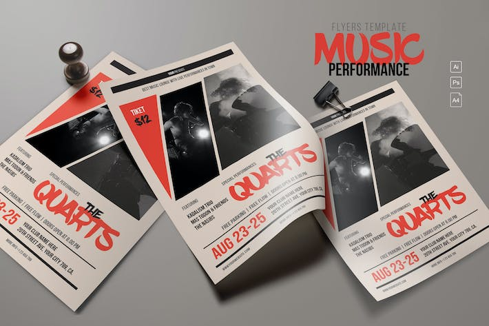 Thumbnail for Music Performance Flyer