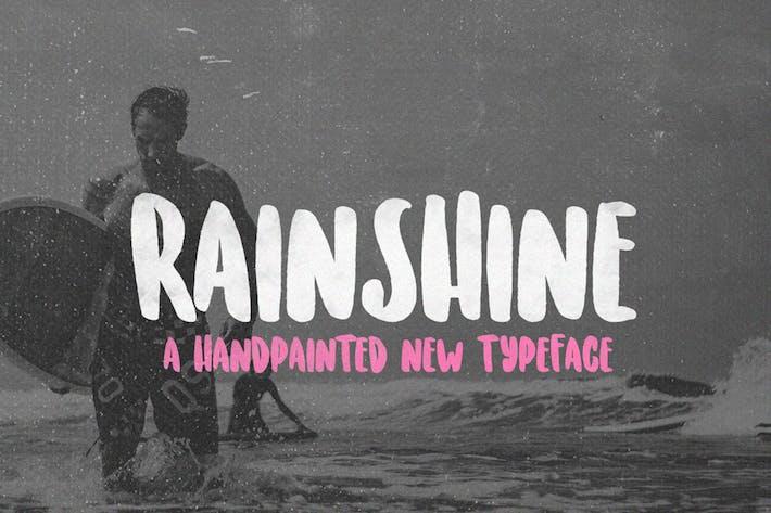Thumbnail for Rainshine Font