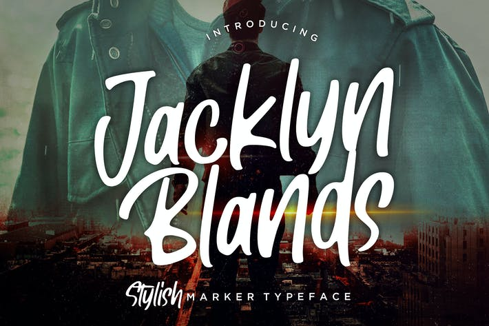 Thumbnail for Jacklyn Blands Stylish Marker Tipo de letra