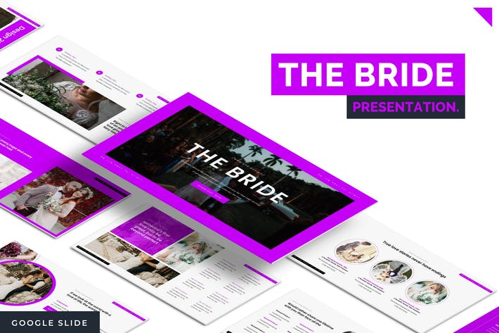 Thumbnail for The Bride - Google Slide Template