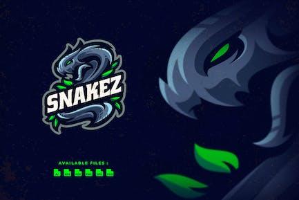 Snake Character Esport Logo