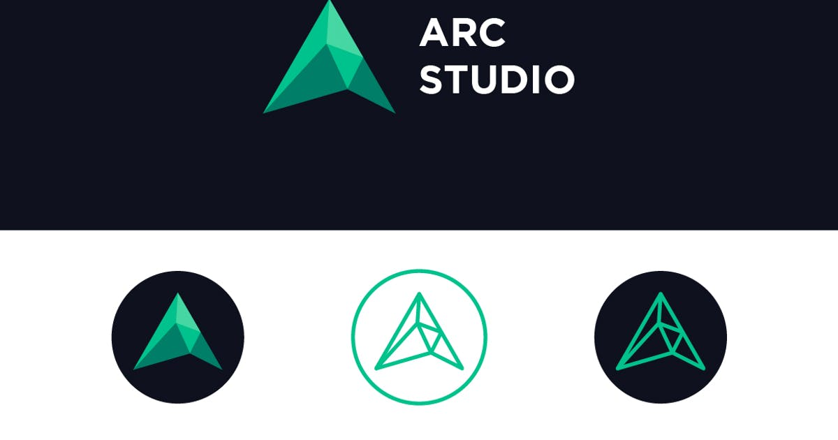 Download Arc Studio - Letter A Logo by Suhandi