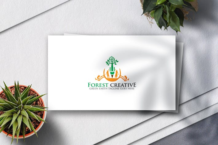 Thumbnail for Forest Creative Logo