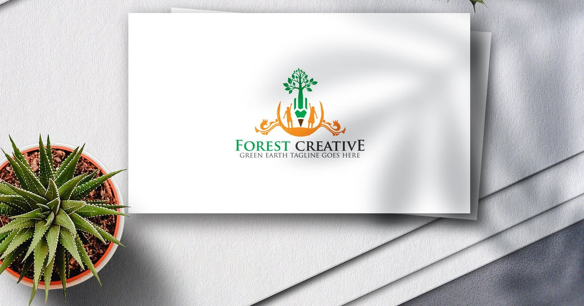 Download Forest Creative Logo by Voltury