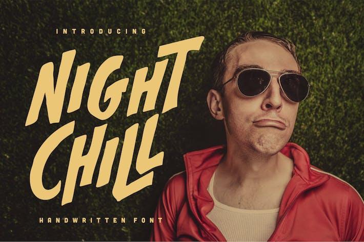 Thumbnail for Night Chill - Handwritten Font