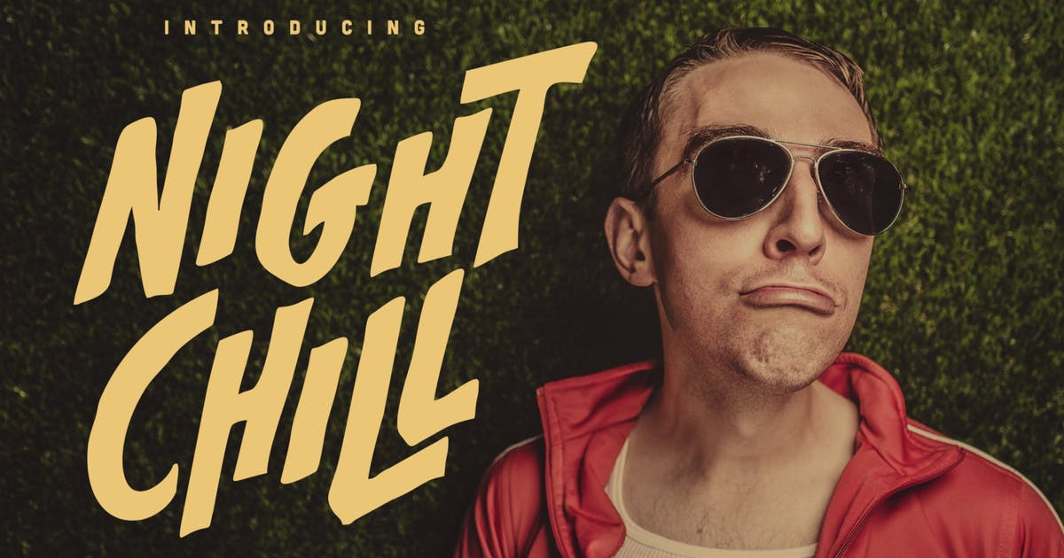 Download Night Chill - Handwritten Font by Macademia