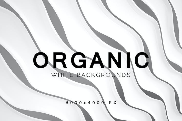 Thumbnail for White Organic Backgrounds