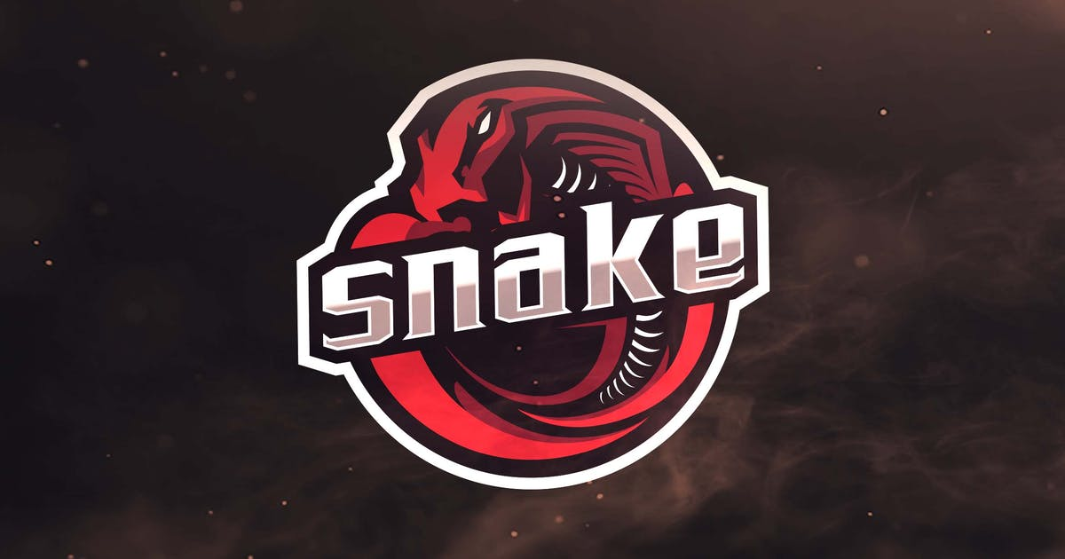 Download Snake Sport and Esports Logos by ovozdigital