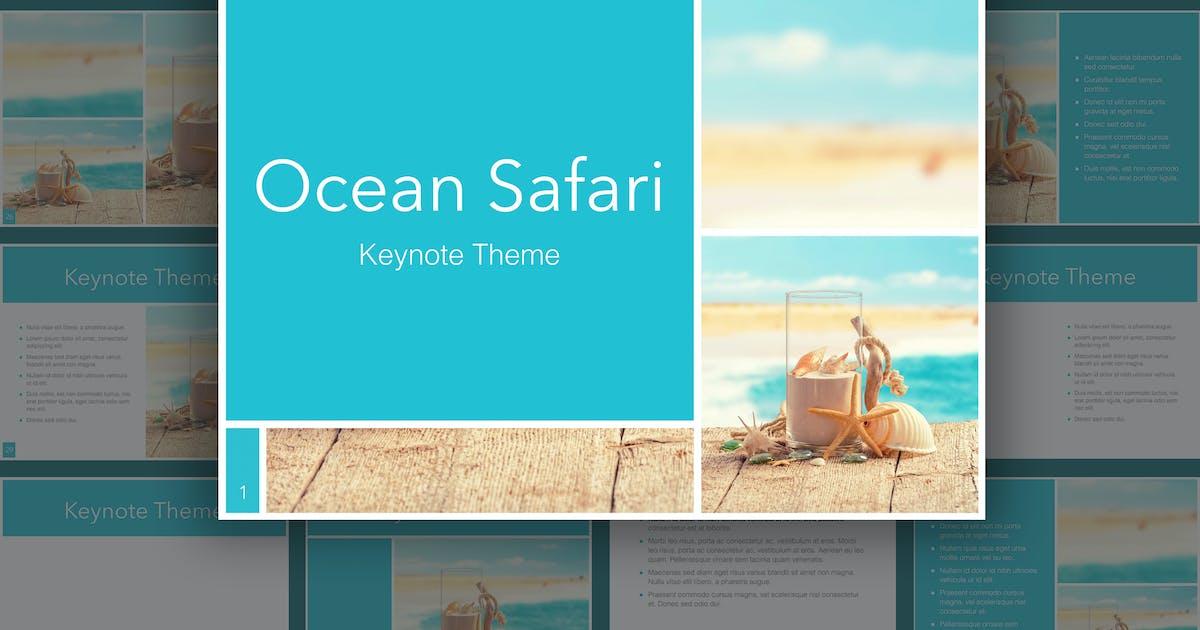 Download Ocean Safari Keynote Template by Jumsoft