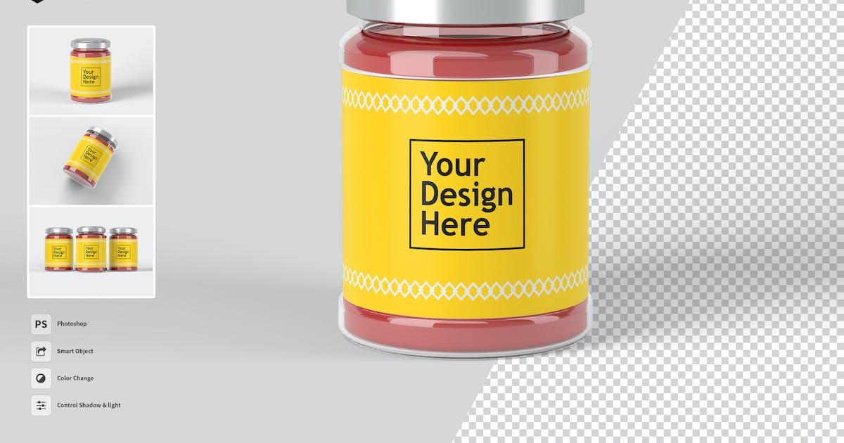 Download Jar Label vol.01 - Mockup FH by Rometheme