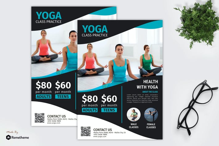 Thumbnail for Yoga - Promotion Flyer RB