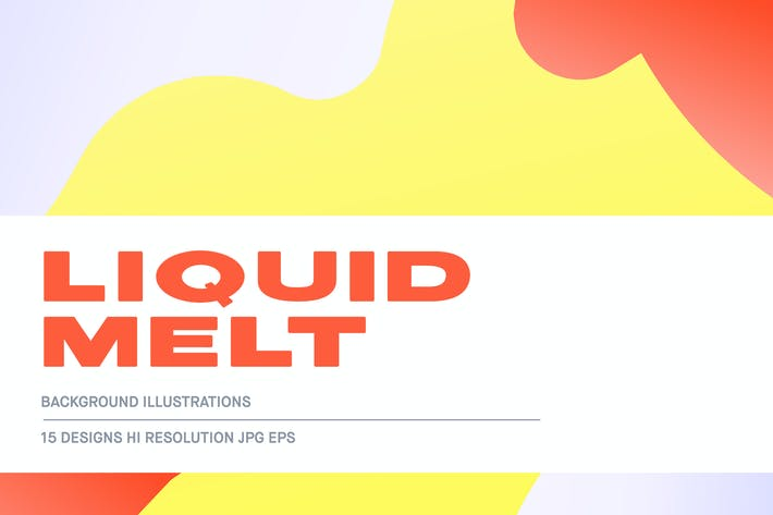 Thumbnail for Liquid Melt - Backgrounds