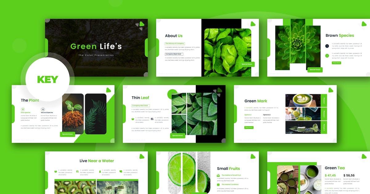Download Green Life - Keynote Template by karkunstudio