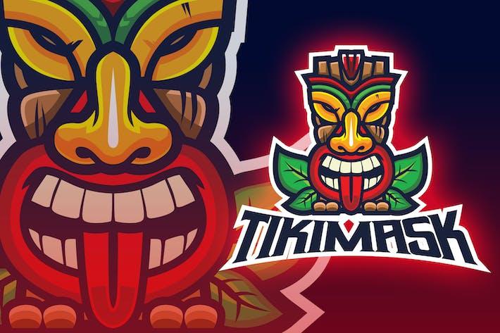 Thumbnail for Tiki Mask Esport Logo