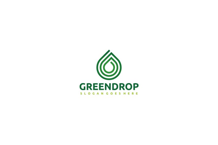Thumbnail for Green Drop Logo