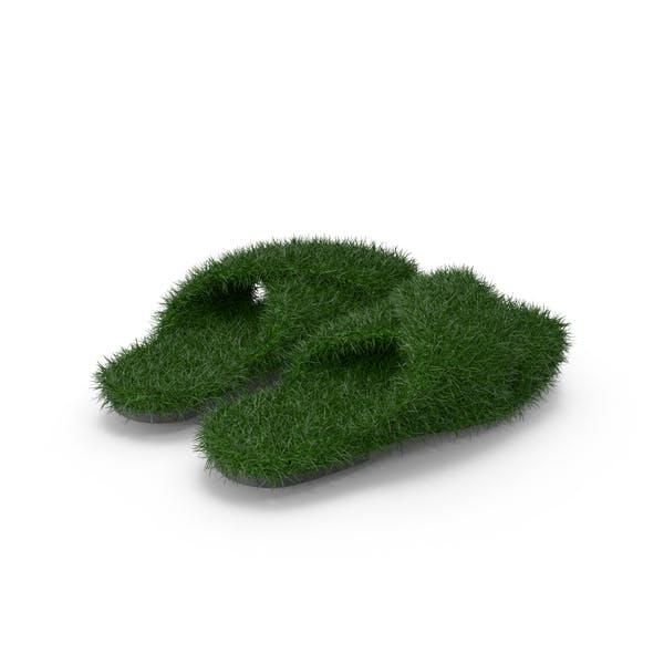 Травяные туфли
