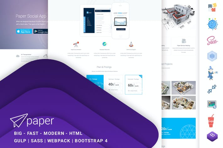 Thumbnail for Paper Multipurpose | Business | CV | Portfolio