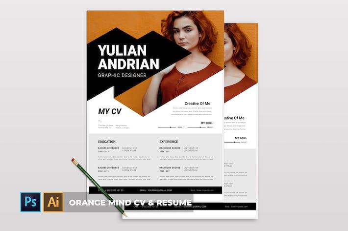 Thumbnail for Orange Mind | CV & Resume