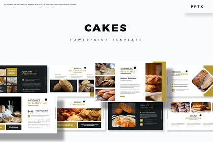 Cakes - Powerpoint Template