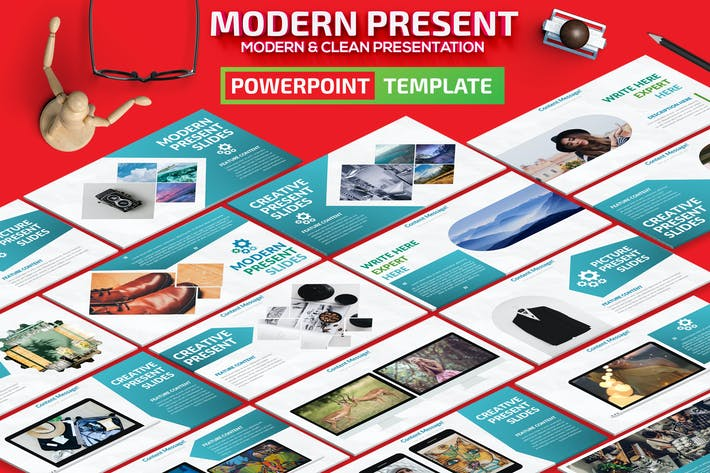 Thumbnail for Moderne Powerpoint-Vorlage