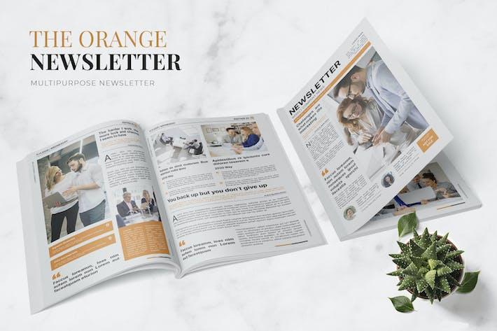 Thumbnail for Orange Company Newsletter