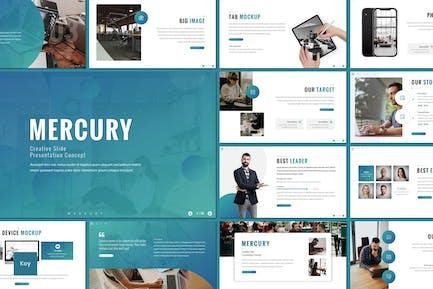 Mercury - Plantilla de Keynote empresarial