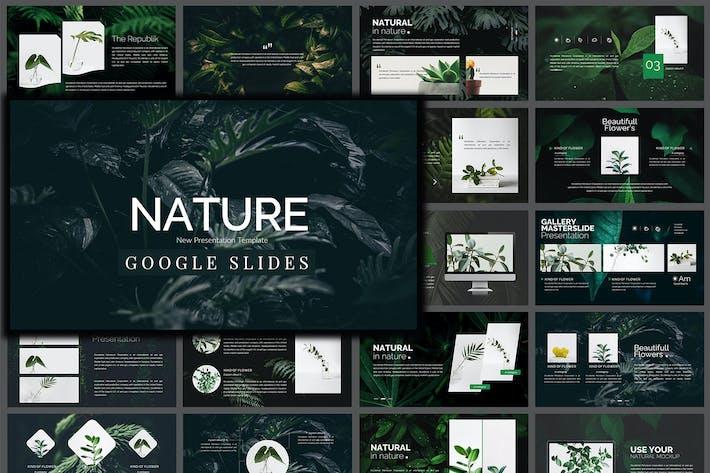 Thumbnail for Nature - Google Slides Presentation