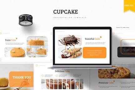 Cupcake   Google Slides Template