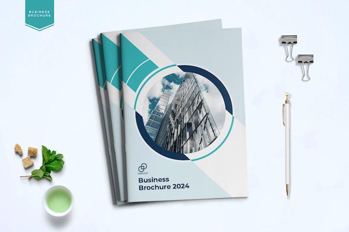 Thumbnail for Шаблон бизнес-брошюры