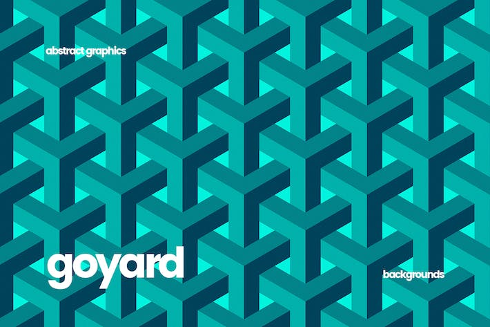 Thumbnail for Goyard Geometric Structure Background