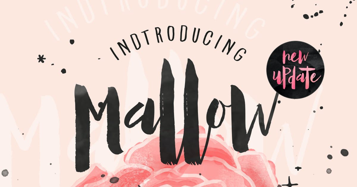 Download Mallow Typeface & EXTRA Mockup by maghrib