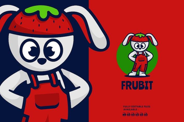 Thumbnail for Cool Rabbit Cartoon Logo