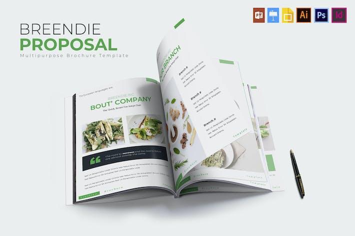 Thumbnail for Breendie | Brochure Template