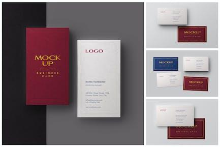 Business Card Mockup Set