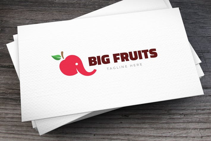 Thumbnail for Big Fruits Logo Template