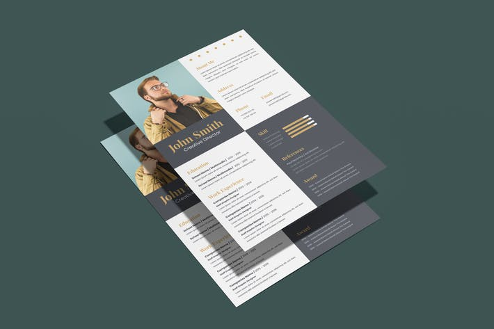 Thumbnail for Simple Resume Template